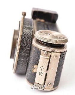 Appareil photo miniature MINIFEX FOTOFEX. Objectif Trioplan f/3.5 25mm