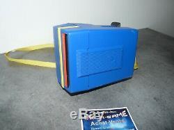 Appareil photo polaroid supercolor esprit bleu et jaune! Testé ok
