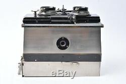 Appareil photo stereo Gaumont Stereospidos format 6x13 cm avec mode d'emploi