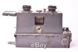Appareil photo stéréo Verascope par Jules Richard modèle simplifié 1908. 45x107