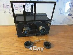 Appareil photo stéréoscopique LEROY stereo