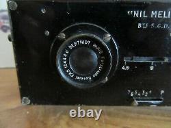 Appareil photo stéréoscopique Macris-Boucher NIL MELIOR Stereo Camera