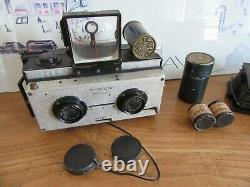Appareil photo stereoscopique NIL MELIOR + Rare Chronoscope PAP