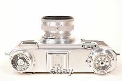 Appareil photo telemetrique Zeiss Ikon Contax IIA, objectif Sonnar f/2 50mm
