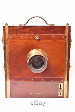 Appareil photographique 18 x 24 cm Mackenstein avec Objectif Hermagis