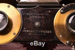 Appareil photographique Stereo Hawkeye model N°1 Blair Camera Co