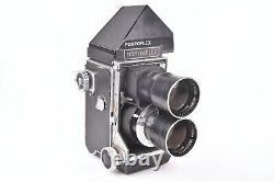 Appareil photographique TLR Mamiyaflex avec objectif Mamiya Sekor f/4.5 180mm