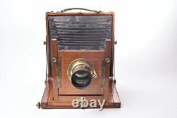 Appareil photographique The Midland camera. Format 21x16 cm. Objectif 5 (120mm)