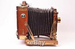 Appareil photographique Thornton-Pickard Royal Ruby triple patent