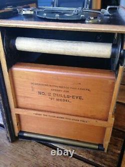 Appareil photographique ancien Kodak Bulls Eye n°2 97 model 1897