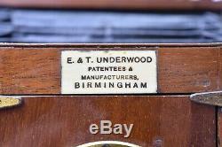 Appareil photographique anglais Umbra par E & T Underwood