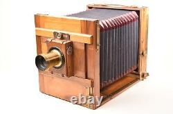 Appareil photographique de voyage. Format 13x18. Circa 1880. Objectif Martin