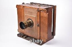 Appareil photographique de voyage, époque collodion. Circa 1860