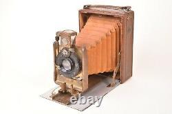Appareil photographique folding Tiranty, Paris. Version luxe. 9x12 cm