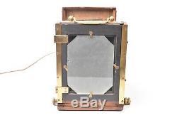 Appareil photographique folding format 9x12 cm. Objectif Photo Hall. Bon état