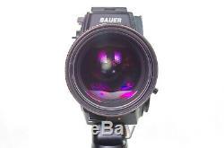 BAUER A512 super 8mm Rare beast Among the 3 best Super8 Camera ever made
