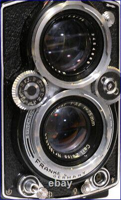 BEAU ROLLEIFLEX 3,5E TYPE 1 PLANAR 13,5 75mm