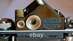 BEIRA II Okula, Beier, Reflex 3x4 cm début années 30, Compur rapid, Cassar 5cm