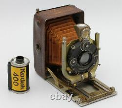BERGHEIL DE LUXE Voigtländer & Sohn Braunschweig Allemagne 4,5 x 6 cm Vers 1915