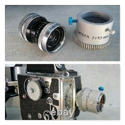 BOLEX Caisson sous marin + M16 camera + KERN 10 mm lens! Operational material