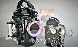 BOLEX underwater housing with M16 camera + KERN 10 mm lens! Operational material