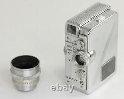 BOLSEY 8 Bolsey Corp Pour film 8 mm Camera miniature USA Vers 1956