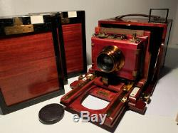 Balbreck 9x12 French Wooden Vintage Camera Cooke Taylor 144,5 F/6.5 Luxus Finish