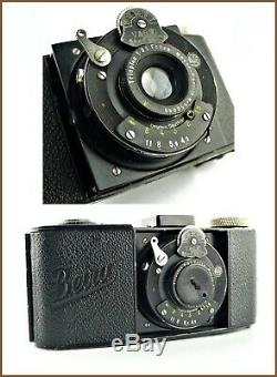 Beier Beira I Appareil Photo 35mm Objectif Trioplan 5cm 4,5 Meyer Gorlitz