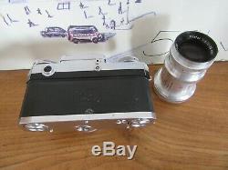 Bel ensemble Contax III IIIa avec ZEISS-OPTON 1,5 / 50mm et Triotar 4 / 85mm