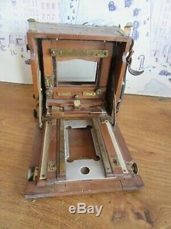 Belle petite chambre photographique en bois LORILLON Triplex