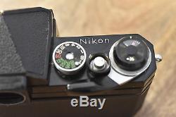 Black Nikon F Apollo Body, Eyelevel Finder