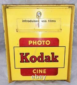 Boite Aux Lettres Kodak Ancienne Appareil Photo Pelicules Deco Plaque Émaillée