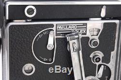 Bolex H16 Reflex + Kern 16mm f1.8 Switar, 25mm f1.4 Switar & 75mm f2.8 Yvar C mt