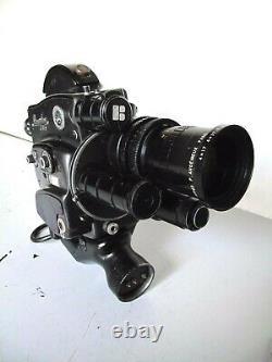 CAMERA 16mm BEAULIEU R16 ANGENIEUX PARIS ZOOM TYPE 4X17B F. 17 68mm 12.2. RARE