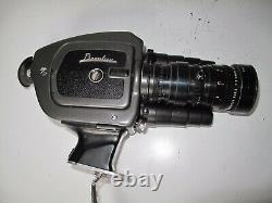 CAMERA 8mm FILM BEAULIEU 4008 ZM2 EN BON ETAT. ANGENIEUX ZOOM 8X8 8-64mm1.9