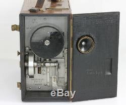 CAMERA ERNEMANN MOD C Doppel-Anastigmat 5,4 N°0000 Dresde Allemagne Vers 1925