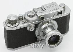 CANON S-II Canon Inc Tokyo Japon vers 1946-49 Objectif Canon Serenar 3,5/50 mm