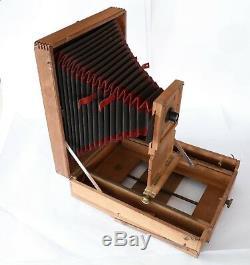 CHAMBRE PHOTOGRAPHIQUE Agrandisseur SOLAIRE en bois 24x30