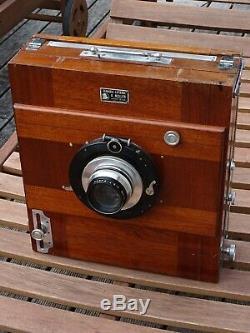 CHAMBRE PHOTO 18 x 24 cm-DEMARIA LAPIERRE MOLLIER-OBTURATEUR COMPOUND-BERTHIOT