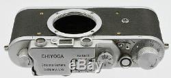 CHIYOCA MODEL II F Chiyotax Camera Co Ltd vers 1953 Copie Leica Porte le N°5817