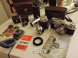 COFFRET ancien appareil photo FOCA universel R