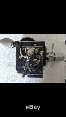 Camera 16 mm Paillard Bolex H16 Reflex Optique Angenieux Zoom 17/68 Type 23