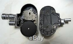 Camera 16mm Bell & Howell Filmo 70-DL avec 2 Objectifs'C' Mount et sa Malette