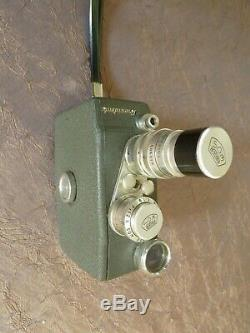 Camera Beaulieu 8 mm à 2 objectifs
