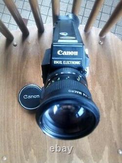 Camera Canon 814XL Electronic Super 8 vintage Ancienne 1977 working Japan