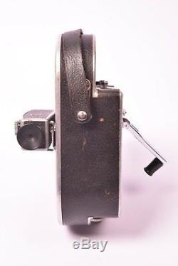 Camera cinema 16mm Bolex Paillard avec 3 objectif. Bon état