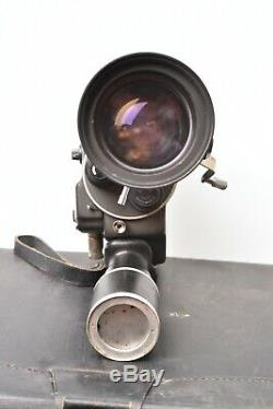 Camera cinema Beaulieu R16 avec objectif Angenieux-Zoom type 10 x 12 B