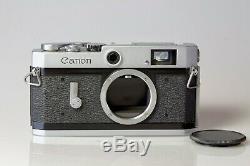 Canon P Rangefinder LTM39 Exc ++, testé avec film