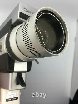 Canon Zoom 518 Super 8 analog movie camera (vintage)