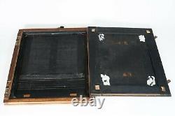 Chambre Collodion 24x30cm avec cuve et divers 300mm COLLODION CAMERA 10x12